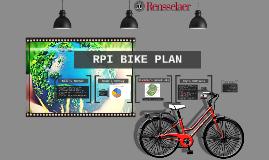 RPI Bike Plan *Update*