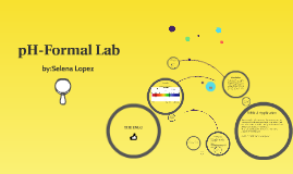 pH Formal Lab