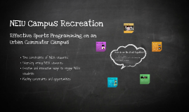 NEIU Campus Recreation
