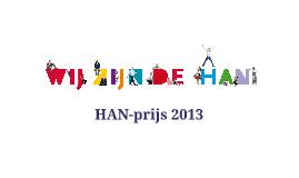 HAN-prijs 2013