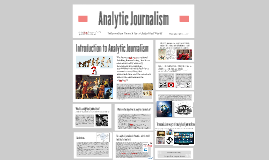 Copy of Analytic Journalism