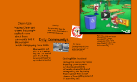 Copy of Trash in the community