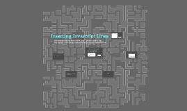Inserting Javascript Lines