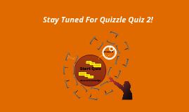 Quiz Number 1