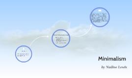 Copy of Minimalism