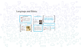 Language and Ethics