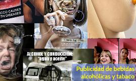 Publicidad de bebidas alcohólicas y tabaco
