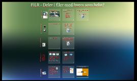 FiLR - Deler I filer med hvem som helst