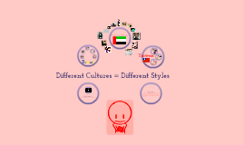 Copy of Different cultures = different styles