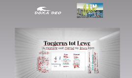 ONE Life, Toegerus tot Lewe - DDSL'17