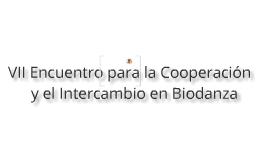 VII Encuentro para la Cooperación y el Intercambio en Biodanza