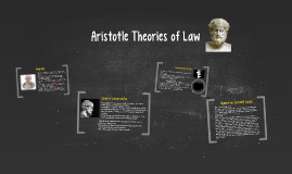 Aristotle Theories of Law