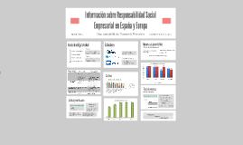 Información sobre Responsabilidad Social Empresarial en Espa