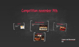 Competition 14 november 2015