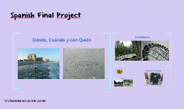 Spanish Final Project