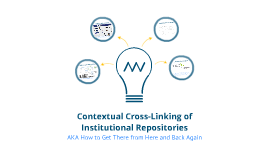 Contexual Cross-linking of Institutional Repositories: A Test Case