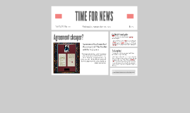 Copy of TIME FOR NEWS