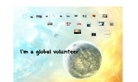 I'm a global volunteer
