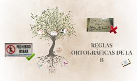 Copy of REGLAS ORTOGRÁFICAS DE LA B