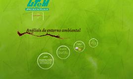 Analisis de entorno ambiental