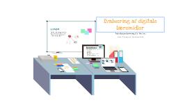 Evaluering af digitale læremidler