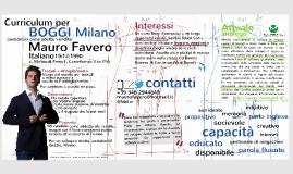 Mauro per BOGGI Milano