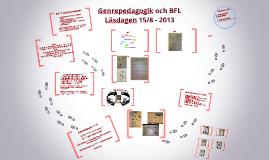 Genrepedagogik och BFL