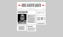 JORGE ALBERTO SABATO