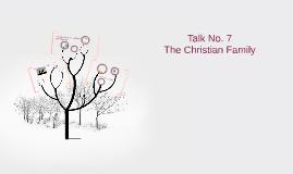 Talk No. 7