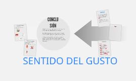 Copy of EL SENTIDO DEL GUSTO