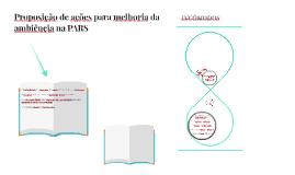Proposição de ações para melhoria da ambiência na PARS
