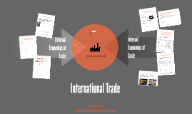 External and Internal Economies of Scale