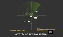 GESTIÓN DE RECURSO HUMANO EN INSTITUCIONES EDUCATIVAS
