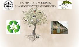 UN PRAE CON ACCIONES CONSTANTES Y TRASCENDENTES