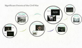 Significant Events of the Civil War