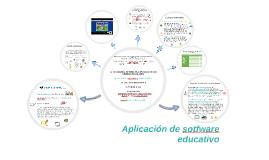 Copy of Aplicación de sotfware educativo