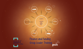 Finance and Funding Training 2018
