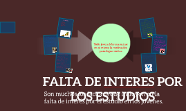 Copy of FALTA DE INTERES POR LOS ESTUDIOS