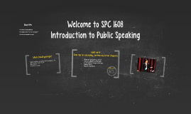 Welcome to SPC 1608