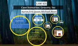 Case Scenarios: Grocery, Inc