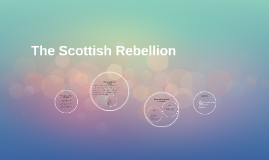 The Scottish rebellion