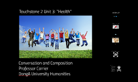 "Touchstone 2 Unit 3 ""Health"""