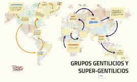 GRUPOS GENTILICOS