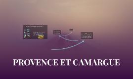 PROVENCE ET CAMARGUE
