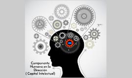 Componente humano en la dirección ( capital intelectual)