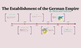 The Establishment of the German Empire