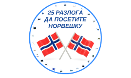 25 разлога да посетите Норвешку