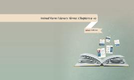 Animal Farm Literary Terms
