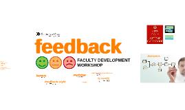 Feedback Faculty Development