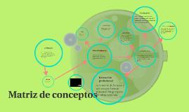 matriz de conceptos